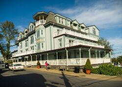 Thanksgiving at the Mansion House in Martha's Vineyard